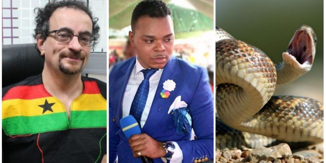 """You can turn in to snake and slither your way out of prison"" - Jon Benjamin Mocks Obinim 1"