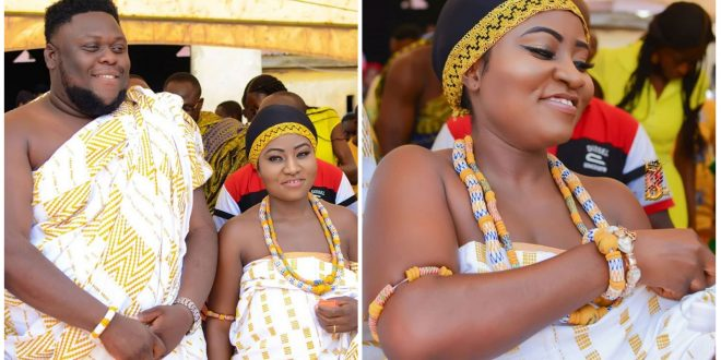 Stunning photos of Oteela's adorable Wife pops up as they mark 1st wedding anniversary 1