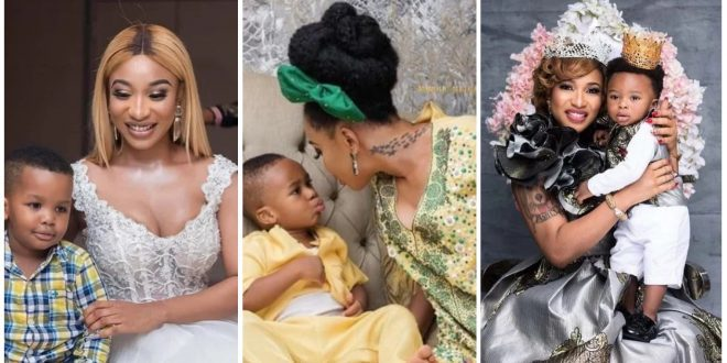 Here Are Some Beautiful Photos Of Tonto Dikeh And Her Adorable Son, King Andre - Photos 1