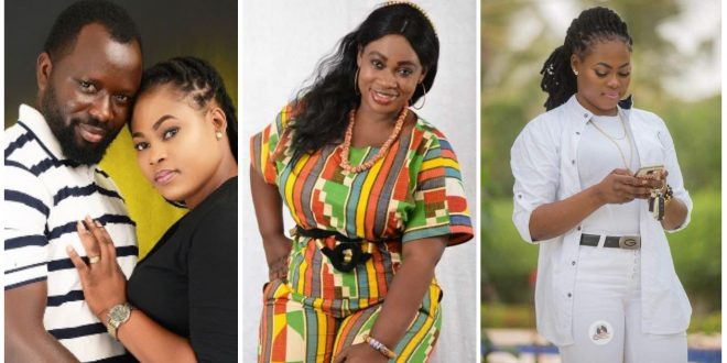 """""""If you want your marriage to succeed, keep it off social media""""- Philipa Baafi reacts to Joyce Blessing's failed marriage. 1"""