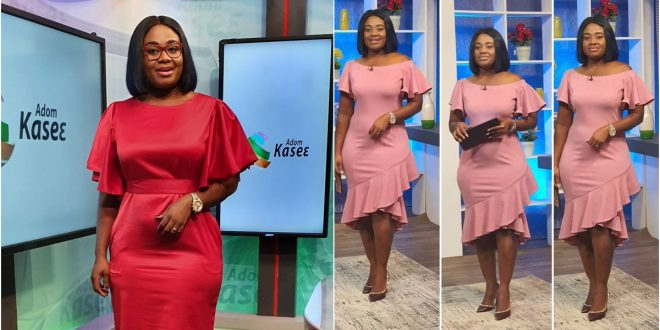 Afia Amankwah Tamakloe now the co-host on Adom TV's Badwam show 1