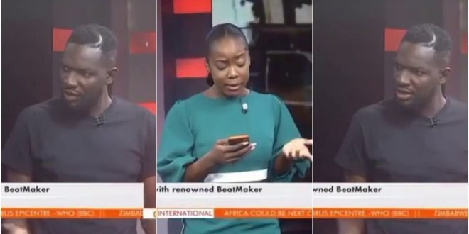 Watch How Ball J Savagely Replied GHONE TV Presenter Who Asked Him About His Beef with Sarkodie - Video 1