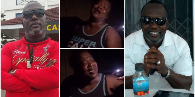 Actress Mercy Aseidu Cries Uncontrollably Over The Death Of Bishop Bernard Nyarko - Video 1