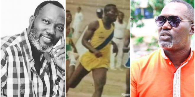 picture of Bernard Nyarko as an Athlete in Tweneboah Kodua Senior High Pops up. (photo) 1