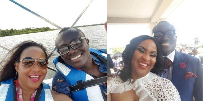 Bola Ray Shows Off His Beautiful Wife As He Marks Her 40th Birthday - Photos +Video 1