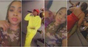 Nana Aba Anamoah, Kidi, and other celebrities disregard Prez. Akufo-Addo's ban on social gathering 15