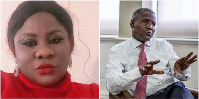 Reasons Why I Will Never Date Dangote - Popular Nollywood Actress Reveals 1