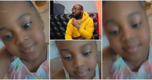 Video of beautiful Hailey, daughter of Davido, pops up online as she celebrates her birthday 22
