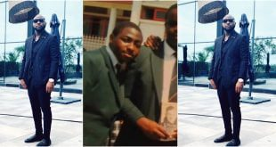 Throwback picture of Davido in high school causes stir online. (photo) 18