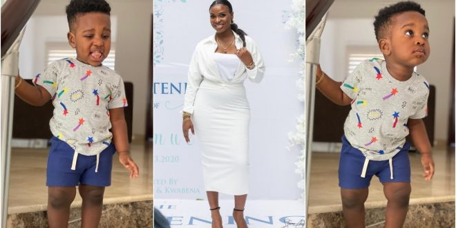 John Dumelo's Wife Gushes Over Their Son Who Looks Like A Big Boy In New Photos 1