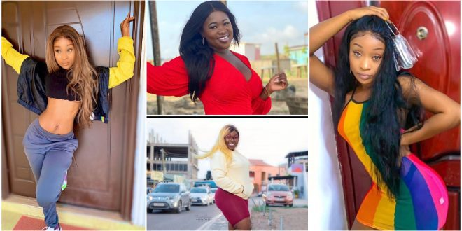 Efia Odo falls in love with Eno's diss song to Sister Afia 1