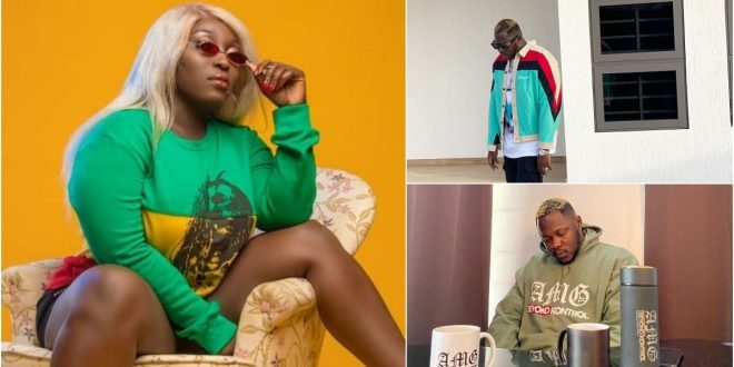 Eno Barony hits back at Medikal after he called her a corpse 1