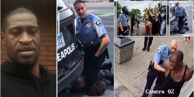 Heartbreaking: Black Man Killed By An American Police Officer Who Knelt On His Neck Till ... - Video 1