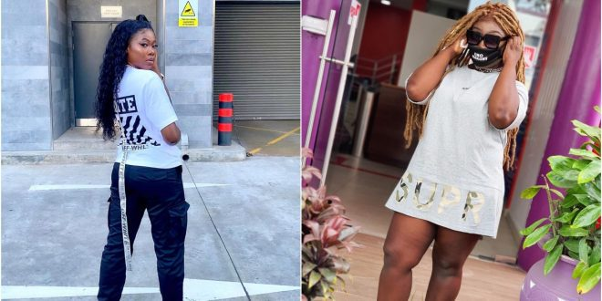 """""""Eno Barony And I Are The Only Female Rappers In Ghana"""" - Freda Rhymz Claims 1"""