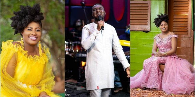 """Singing only hymns makes a lazy artiste"" – Patience Nyarko jabs Joe mettle 1"
