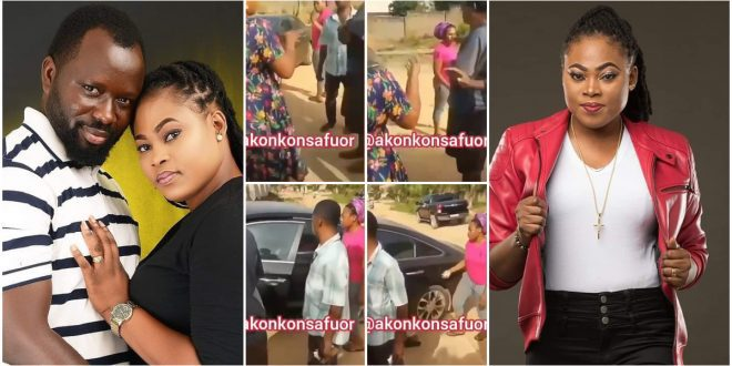 Video Of Joyce Blessing Fighting With Her Sister-In-law As She Picks Her Kids Finally Surfaced - Watch 1
