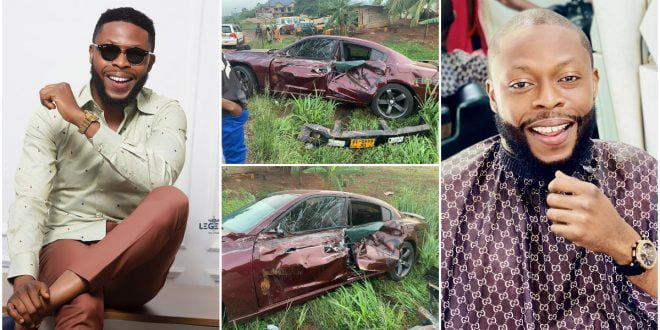 Kalybos shares how he almost died on social media (photo) 1