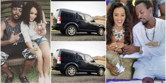 Kwaw Kese gifts wife with a brand new car on Mothers' Day 1