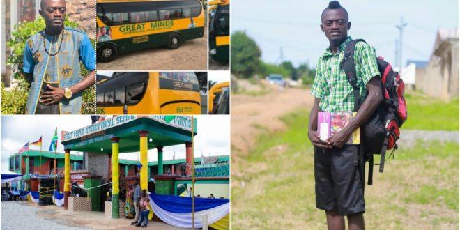 """""""'Wicked' Funny Face wants to collapse my Ghc 370,000 school"""" - Lilwin - video 1"""