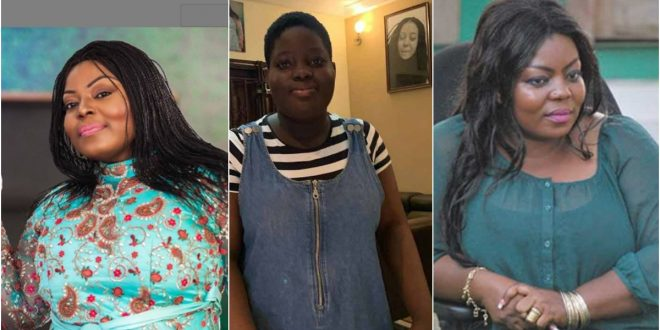 Maame Yeboah Asiedu shares photos of her daughter as she celebrates her B-Day 1