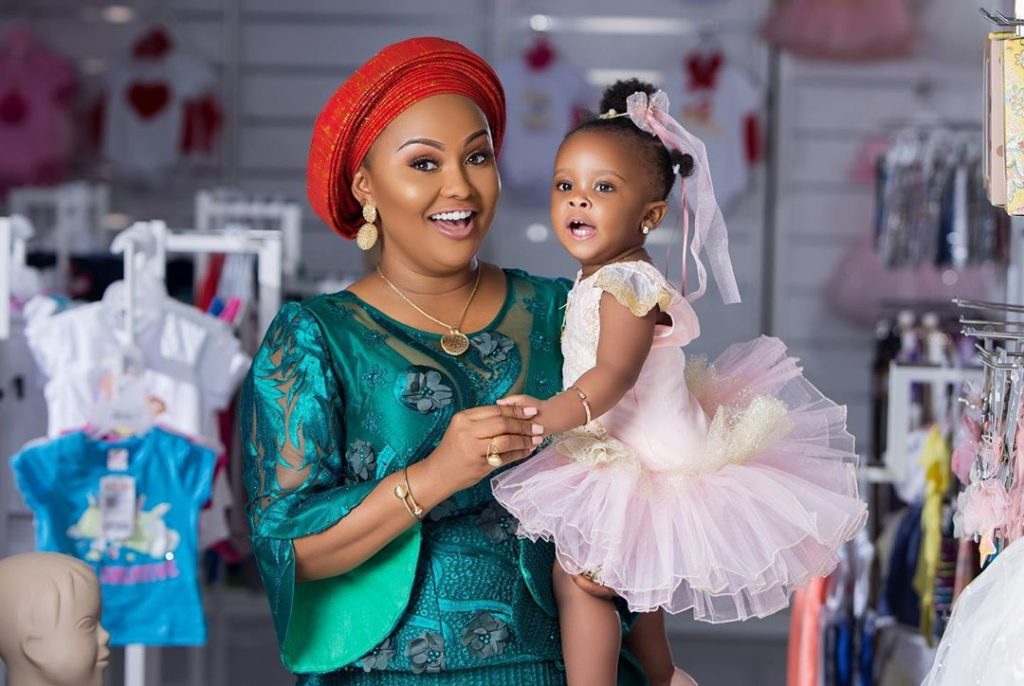 Check out the cute photos of baby Maxin shared by her mom on Mother's day 2