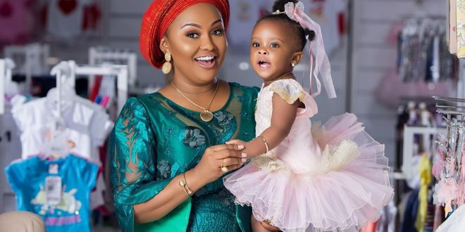 Check out the cute photos of baby Maxin shared by her mom on Mother's day 1
