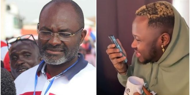 Medikal pleads with Kennedy Agyapong on Phone to forgive Angel Obinim and stop disgracing him (video) 1