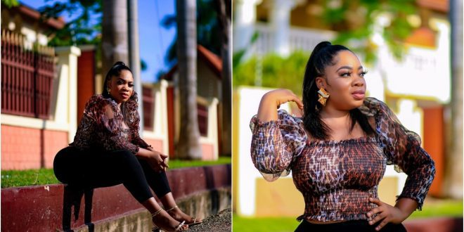 Moesha Boduong Flaunt Her Long Natural Hair In Beautiful Photos: Celebrities React - Check Out 1