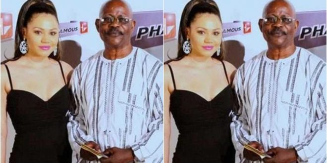 The Father of Nadia Buari opens up on adopting  her (video) 1