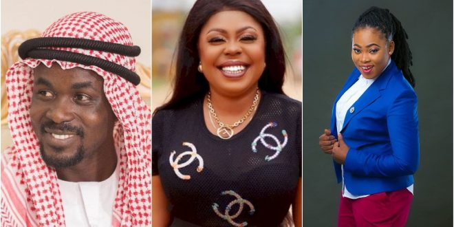 NAM1 Is Behind The Collapse Of Joyce Blessing's Marriage - Afia Schwarzenegger Alleges (video) 1