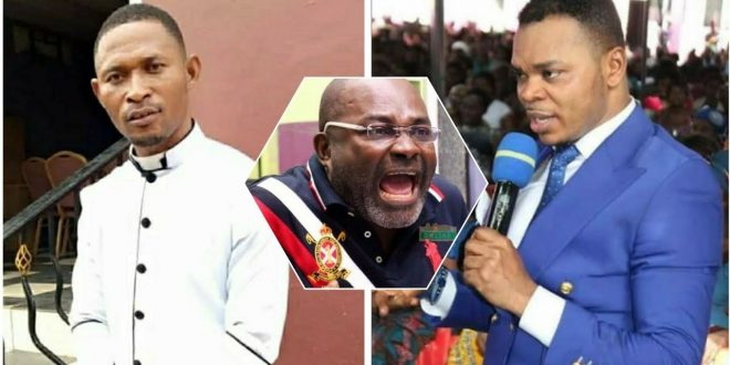 """""""Kennedy Agyapong can't collapse any church in Ghana"""" - prophet fires - video 1"""