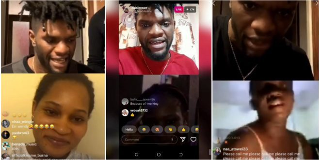 Ogidi Brown Finally Organises Auditions To Find Girlfriend On Instagram Live - Video 1