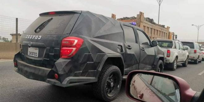 Kantanka's new 2020 'Ɔkofoɔ' car spotted on the streets of Accra 1
