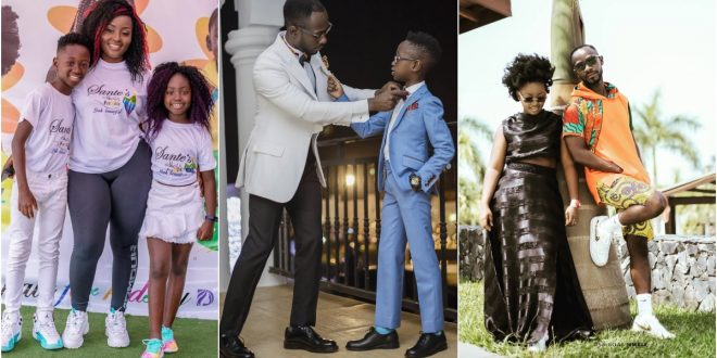 Okyeame Kwame pleads with his wife to give him another child - Photos 1