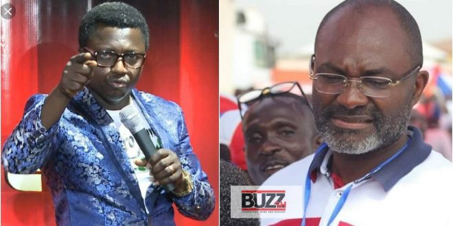 """""""Opambour Is Also A Fake Pastor Just Like Angel Obinim"""" - Kennedy Agyapong Alleges (Video) 1"""