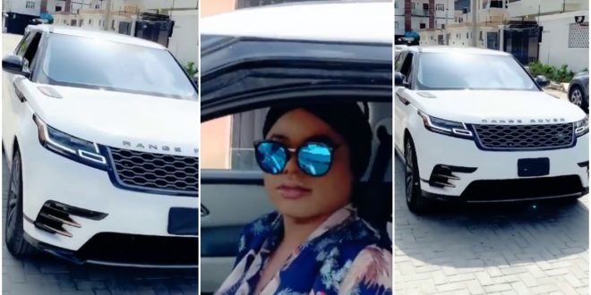 Bobrisky Cruises In Town With His Range Rover As He Defies Lockdown Order - Video 1