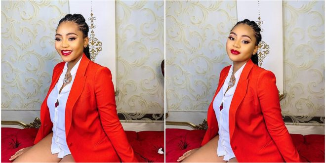 Regina Daniels Reveals Her Favorite Color As She Dazzles In New Photos - Check Out 1