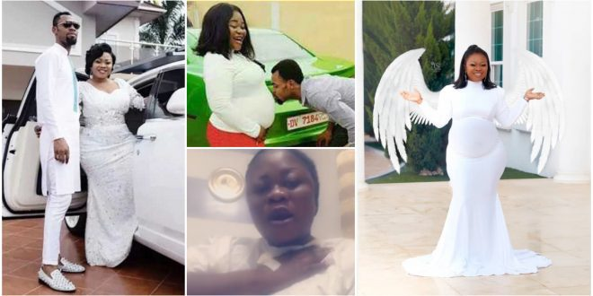 Rev. Obofour's Wife, Ciara Antwi Gives Birth To Triplets - Photo+Video 1