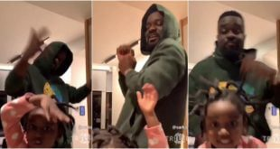 Sarkodie and Titi drop their best dance moves - video 6