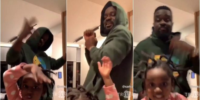 Sarkodie for the first have disclosed what he went through in America because of Coronavirus. (Video) 1