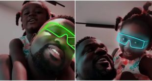 Sarkodie and Titi spend time together as they rap overload. 4