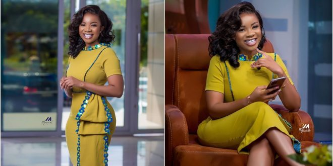 Serwaa Amihere exposed for wearing hip pads once again 1