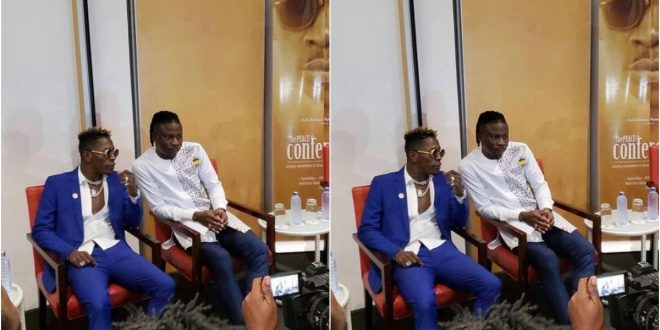 """Shatta Wale and I are on good terms now, but we are not friends"" – Stonebwoy Clarifies 1"