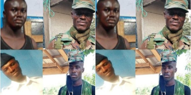 Ghana Armed Forces arrest four imposters among them 1