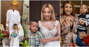 """""""Am Called A Mother Because Of You, Thank You, My Son"""" - Tonto Dikeh On Mother's Day 34"""