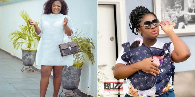 Actress Tracey Boakye flaunts the mansion she is buiding for her daughter (video) 1