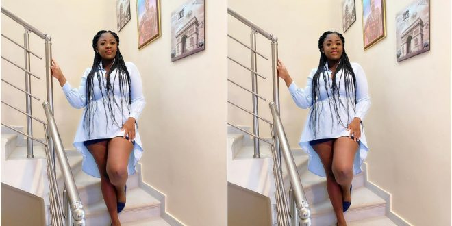 Tracey Boakye Shares Beautiful Photo Of Her Post -Pregnancy Body - Check It Out 1