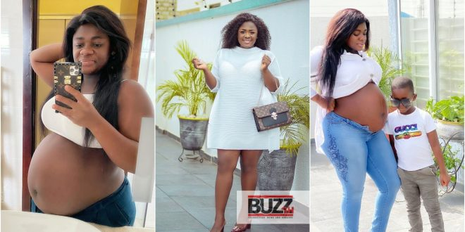 Tracey Boakye roasted for praising herself for being the world's best mommy. 1