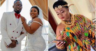 Xandy Kamel's Husband reveals why they kept their wedding a secret - video 45