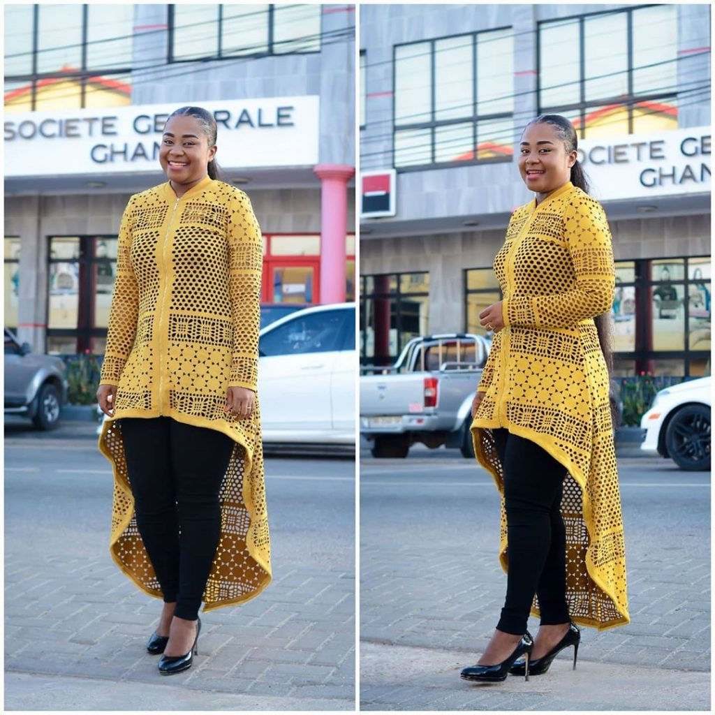 10 Times Afia Amankwah Tamakloe Dazzles In Decent Dresses Yet Still Looks Beautiful - Photos 3
